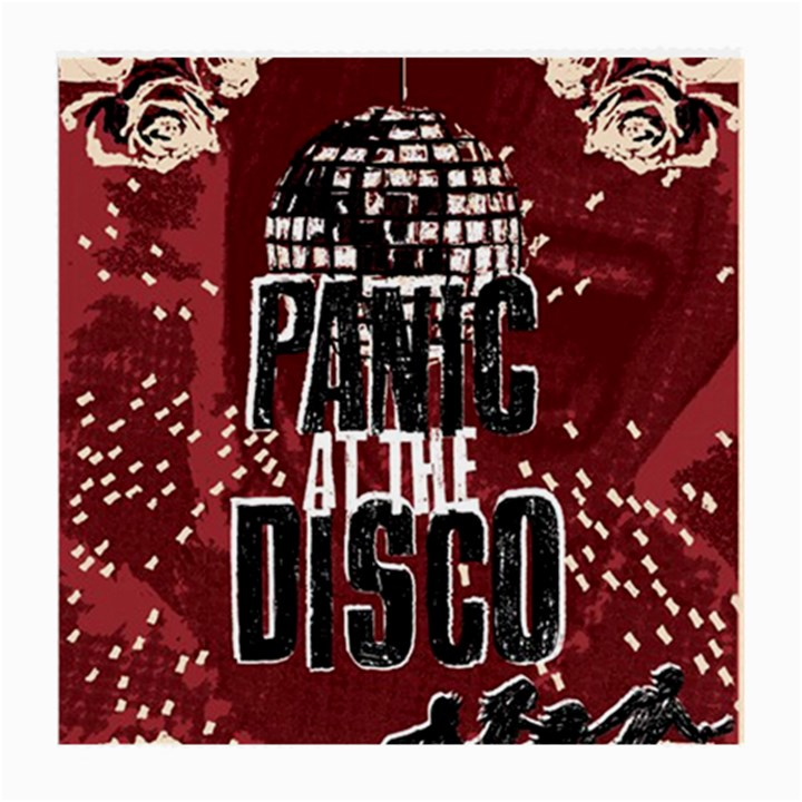 Panic At The Disco Poster Medium Glasses Cloth