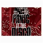 Panic At The Disco Poster Large Glasses Cloth Front