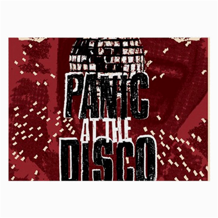 Panic At The Disco Poster Large Glasses Cloth