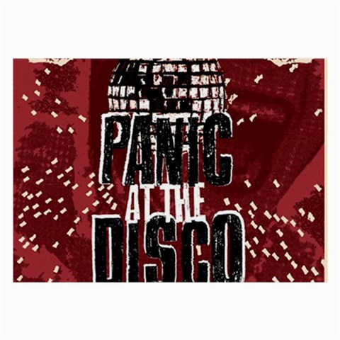 Panic At The Disco Poster Large Glasses Cloth (2-Side)