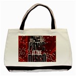 Panic At The Disco Poster Basic Tote Bag (Two Sides) Front