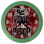 Panic At The Disco Poster Color Wall Clocks Front