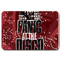 Panic At The Disco Poster Large Doormat