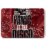 Panic At The Disco Poster Large Doormat  30 x20 Door Mat - 1