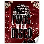 Panic At The Disco Poster Canvas 11  x 14   14 x11 Canvas - 1