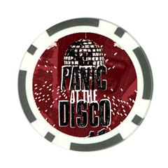 Panic At The Disco Poster Poker Chip Card Guards