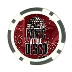 Panic At The Disco Poster Poker Chip Card Guards Back