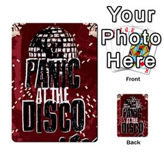 Panic At The Disco Poster Multi Purpose Cards (rectangle)