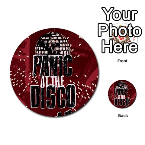 Panic At The Disco Poster Multi-purpose Cards (Round)