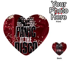 Panic At The Disco Poster Multi-purpose Cards (Heart)