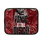 Panic At The Disco Poster Netbook Case (Small)  Front