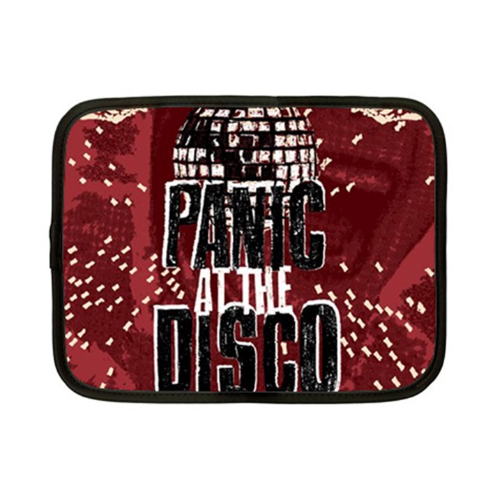 Panic At The Disco Poster Netbook Case (Small)
