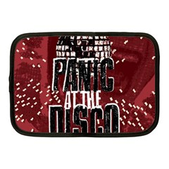 Panic At The Disco Poster Netbook Case (Medium)