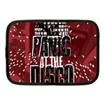 Panic At The Disco Poster Netbook Case (Medium)  Front