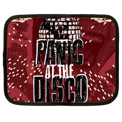 Panic At The Disco Poster Netbook Case (Large)