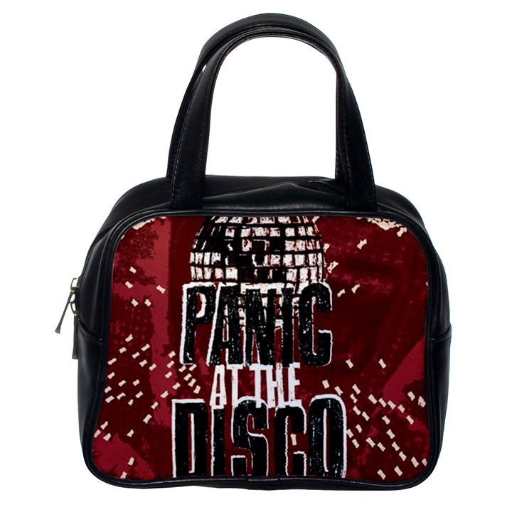 Panic At The Disco Poster Classic Handbags (One Side)