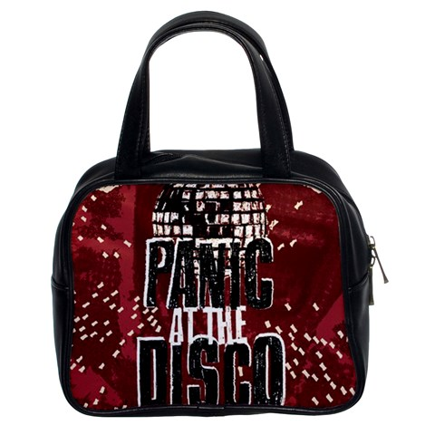 Panic At The Disco Poster Classic Handbags (2 Sides)