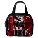 Panic At The Disco Poster Classic Handbags (2 Sides) Back