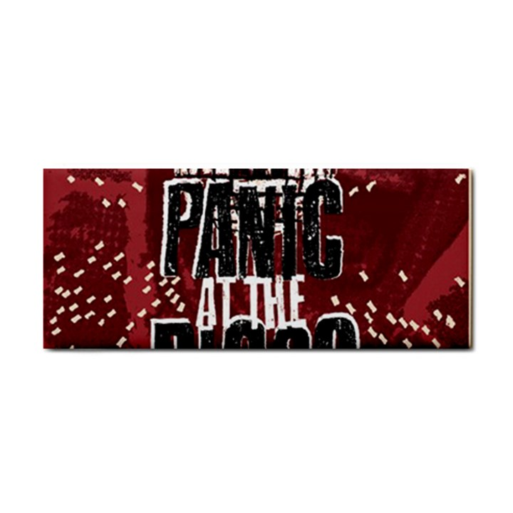 Panic At The Disco Poster Hand Towel