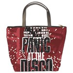 Panic At The Disco Poster Bucket Bags Back