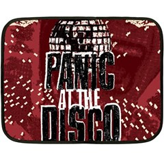 Panic At The Disco Poster Fleece Blanket (mini)