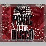 Panic At The Disco Poster Canvas 14  x 11  14  x 11  x 0.875  Stretched Canvas