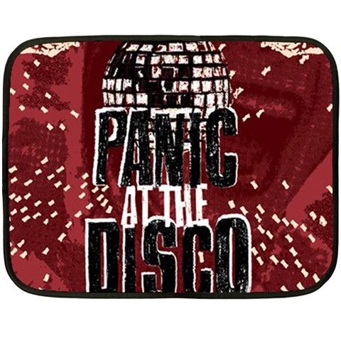 Panic At The Disco Poster Double Sided Fleece Blanket (Mini)