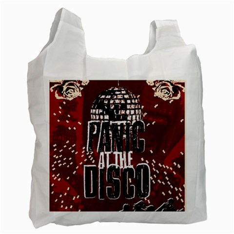 Panic At The Disco Poster Recycle Bag (One Side)