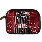Panic At The Disco Poster Digital Camera Cases Front
