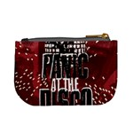 Panic At The Disco Poster Mini Coin Purses Back