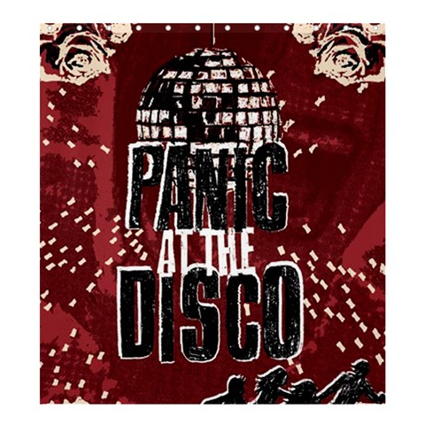 Panic At The Disco Poster Shower Curtain 66  x 72  (Large)