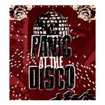 Panic At The Disco Poster Shower Curtain 66  x 72  (Large)  58.75 x64.8 Curtain