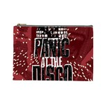 Panic At The Disco Poster Cosmetic Bag (Large)  Front