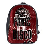 Panic At The Disco Poster School Bags(Large)  Front