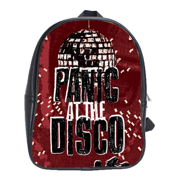 Panic At The Disco Poster School Bags(Large)