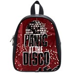 Panic At The Disco Poster School Bags (Small)  Front