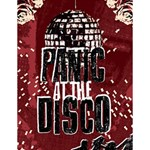 Panic At The Disco Poster Large Memo Pads 4.125 x5.5  Memopad