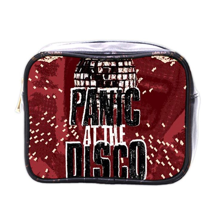 Panic At The Disco Poster Mini Toiletries Bags