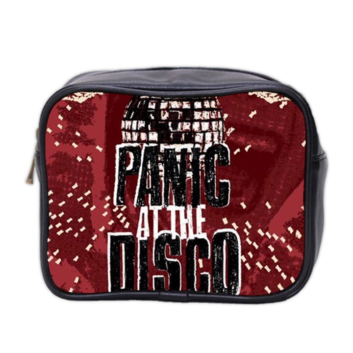 Panic At The Disco Poster Mini Toiletries Bag 2-Side