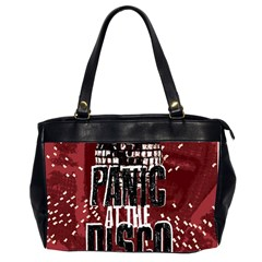 Panic At The Disco Poster Office Handbags (2 Sides)