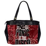 Panic At The Disco Poster Office Handbags (2 Sides)  Back