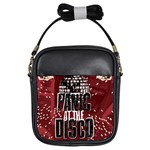 Panic At The Disco Poster Girls Sling Bags Front