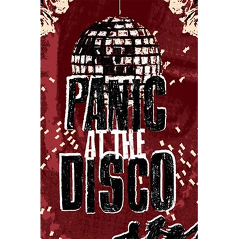 Panic At The Disco Poster 5.5  x 8.5  Notebooks
