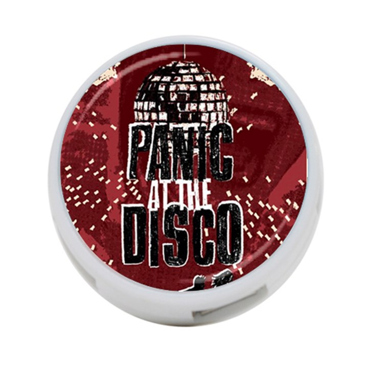 Panic At The Disco Poster 4-Port USB Hub (One Side)
