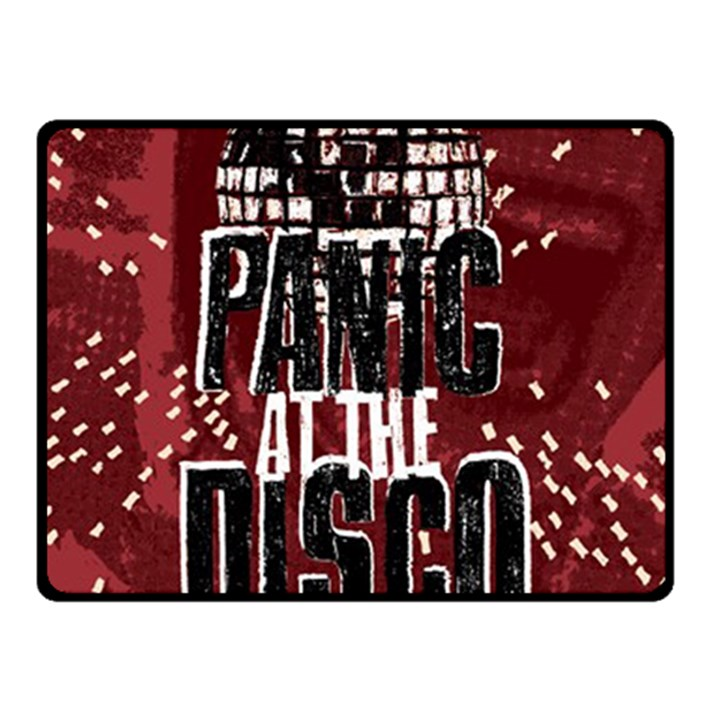 Panic At The Disco Poster Fleece Blanket (Small)