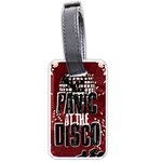 Panic At The Disco Poster Luggage Tags (One Side)  Front