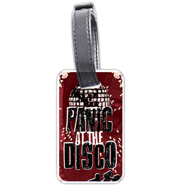 Panic At The Disco Poster Luggage Tags (Two Sides)