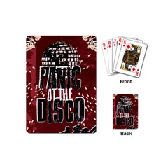 Panic At The Disco Poster Playing Cards (Mini)