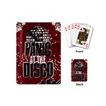 Panic At The Disco Poster Playing Cards (Mini)  Back