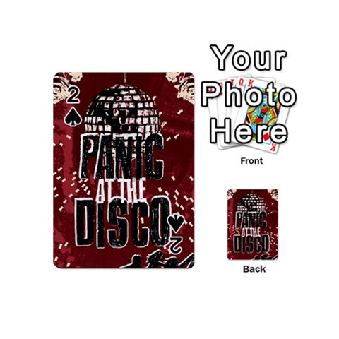 Panic At The Disco Poster Playing Cards 54 (Mini)